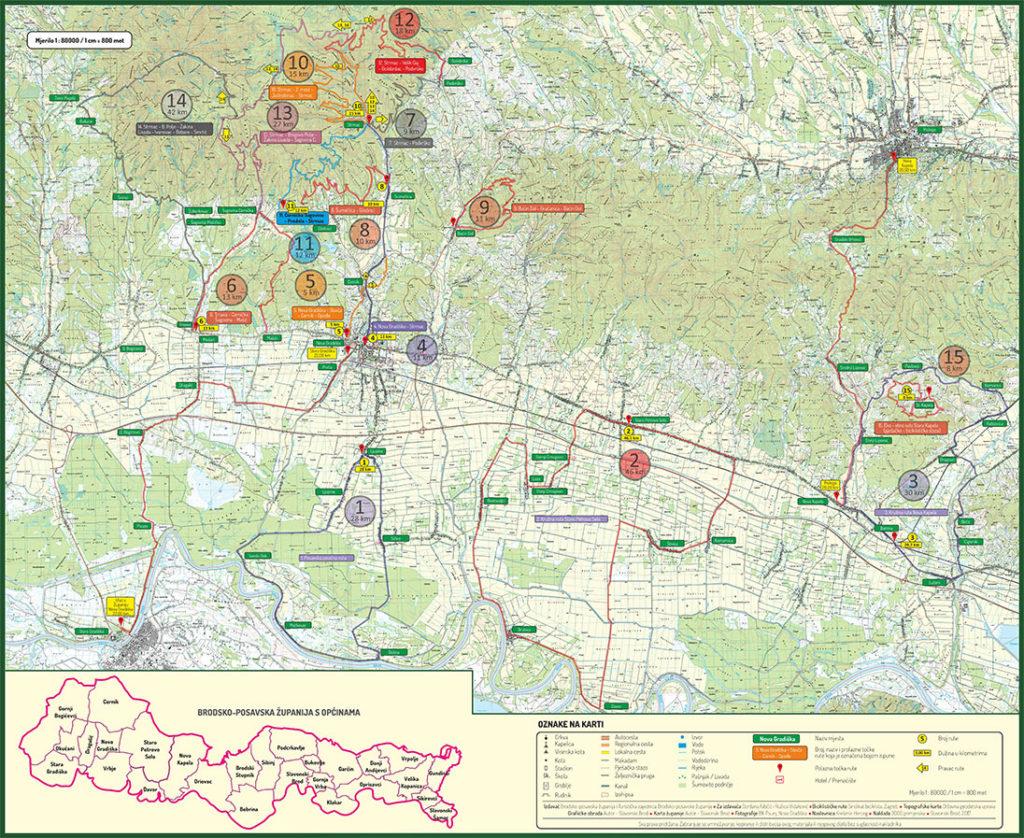 Cikloturizam - biciklističke rute Nova Gradiška